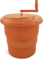 WAS Salatschleuder 25 ltr. orange