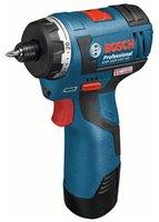 Bosch GSR 10,8 V-EC HX (mit 2 x 2,5 Ah Akku, L-BOXX)