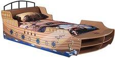 Vipack Kinder-Bootbett Pirat (90 x 200 cm)