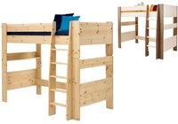 Steens Furniture Ltd Hochbett mit Leiter weiß-grau