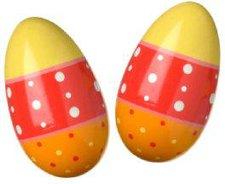 New Classic Toys Rassel Ei (orange/rot/gelb) (0490)