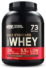 Optimum Nutrition 100% Whey Gold Standard 2273g Double Chocolate
