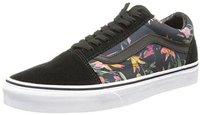 Vans Old Skool Black Bloom black/true white