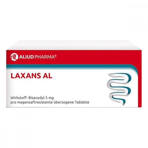 Aliud Laxans Al magensaftresistente überzogene Tabletten (200 Stk.)