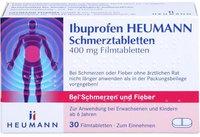 Heumann Ibuprofen Schmerztabletten 400 mg (30 Stk.)