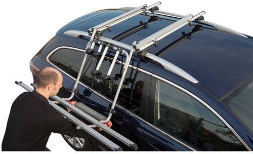 Fischer Dachlift Fahrradträger für 2 Fahrräder