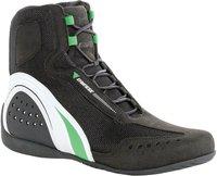 Dainese Motorshoe Air schwarz/weiß/grün
