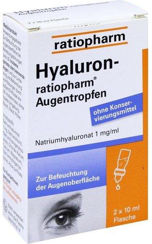 ratiopharm Hyaluron Augentropfen (2 x 10 ml)