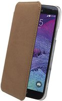 Muvit Made In Paris Crystal Folio Case Brown (Samsung Galaxy Note 4)