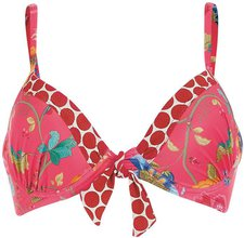 PIP Studio Laura Floral Fantasy Bikini dark pink