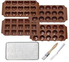 Küchenprofi Pralinen-Set 7.teilig