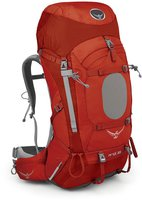 Osprey Ariel 65 S vermillion red
