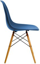 Vitra Eames Plastic Side Chair DSW marineblau