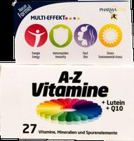 PharmaVital A-Z Vitamine + Lutein + Q10 Tabletten (60 Stk.)