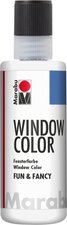 Marabu Fun & Fancy Window Color 80 ml, Konturen weiß