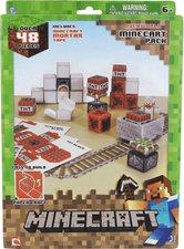 Jazwares Minecraft Papercfraft Minecart Set (48 Teile)