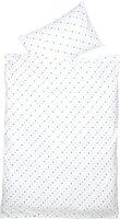 Odenwälder Jersey-Bettwäsche Sterne (100 x 135)