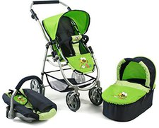 Bayer Chic Puppenwagen Emotion 3in1 All In - bumblebee