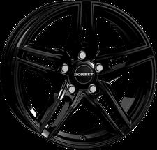 Borbet XR (7,5x17) schwarz glänzend