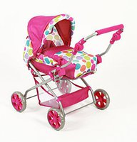 Bayer Chic Puppenwagen Piccolina - Pinky bubbles