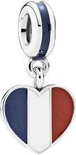 Pandora Herzflagge Frankreich (791546ENMX)