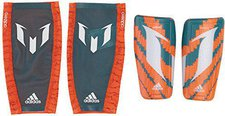 Adidas Messi 10 Schienbeinschoner solar orange/power teal