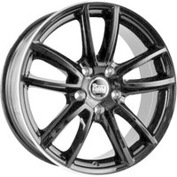 MAM Wheels S1 (8.5x18) schwarz randpoliert