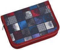 4You Etui XXL squares blue/red