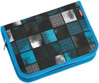 4You Etui XXL squares blue/grey