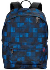 4You Legend Daypack squares blue