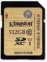 Kingston SDXC Ultimate 512GB Class 10 UHS-1 (SDA10/512GB)