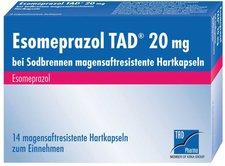 TAD Pharma Esomeprazol Tad 20 mg bei Sodbrennen msr. Hartkapseln (14 Stk.)