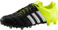 Adidas Ace15.2 FG/AG Leather core black/footwear white/solar yellow