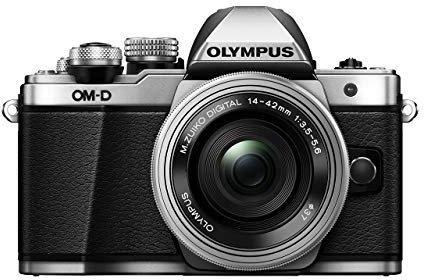 Olympus OM-D E-M10 Mark II Kit 14-42 mm EZ silber
