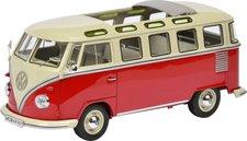 Schuco VW T1 Samba Bus, rot-weiß