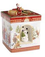 Villeroy & Boch Christmas Toys Geschenkpaket groß eckig Spaziergang (1483275427)