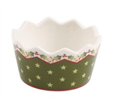Villeroy & Boch Winter Bakery Decoration Teelichthalter grün (1486134011)