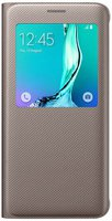 Samsung S View Cover gold (Galaxy S6 Edge+)