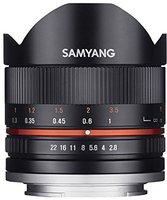 Samyang Fisheye 8mm f2.8 II [Samsung NX]
