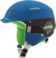 Alpina Eyewear Spam Cap Junior blue/brown matt