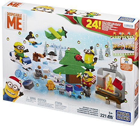Mattel Mega Bloks CPC57 Minions Adventskalender