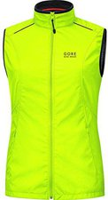 Gore Element Lady Windstopper Active Shell Vest neon yellow
