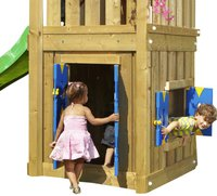 Jungle Gym Anbaumodul Play House L (125 cm)