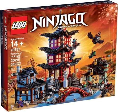 LEGO Ninjago - Tempel des Airjitzu (70751)