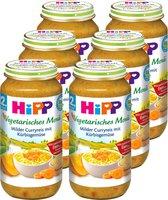 Hipp Vegetarisches Menü Milder Curryreis mit Kürbisgemüse 250
