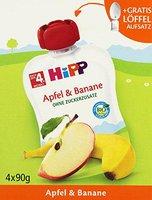 Hipp Früchte Spaß Apfel & Banane (4x90 g)