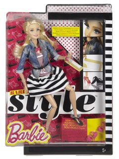Barbie Fashionistas Demim & Stripes (CFM75)