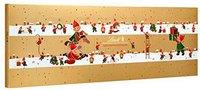Lindt Süße Weihnachtshelfer Adventskalender 250g