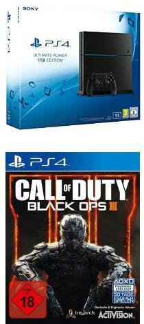 Sony PlayStation 4 (PS4) 1TB + Call of Duty: Black Ops 3