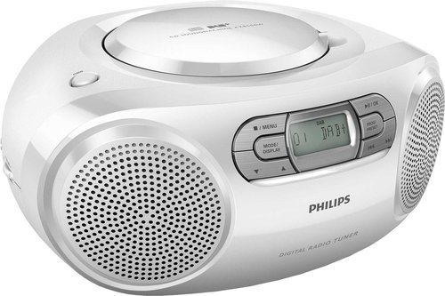 Philips AZB500W/12 weiß